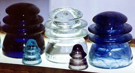 Swirly Miniature Insulators